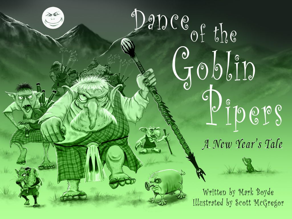 Created all the illustrations for Goblin Pipers